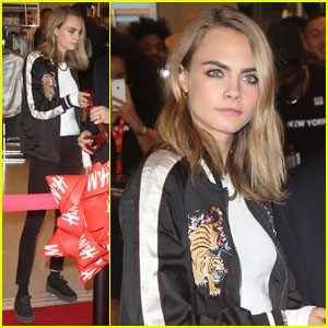 Cara Delevingne Shares Sweet Selfie With Super Cute Pup!