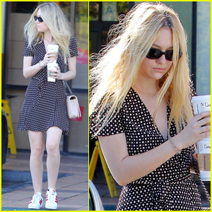 Dakota Fanning Steps Out After Voting in the Election!