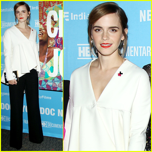 Emma Watson Steps Out at 'City of Joy' Premiere