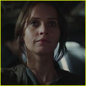 Felicity Jones Has Hope in New 'Rogue One' TV Spot!