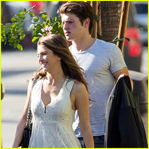 Bella Thorne's Ex Gregg Sulkin Grabs Lunch with Mystery Brunette