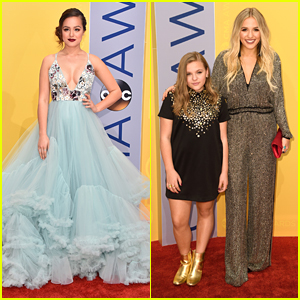 The Goldbergs' Hayley Orrantia is a Fairytale Princess Come To Life at CMA Awards 2016