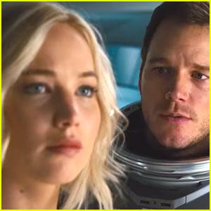 VIDEO: Jennifer Lawrence & Chris Pratt Uncover New Mysteries in 'Passengers' Trailer!