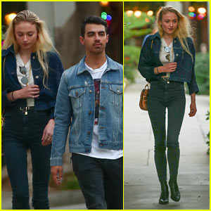 Joe Jonas & Sophie Turner Rock Matching Outfits While Out in LA!