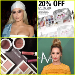 Kylie Jenner & Ashley Tisdale Reveal Cyber Monday Deals For Their Beauty Lines!