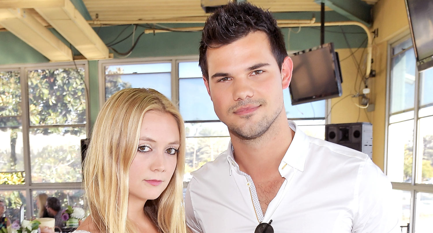 Taylor Lautner's tribute to Billie Lourd's mum is everything