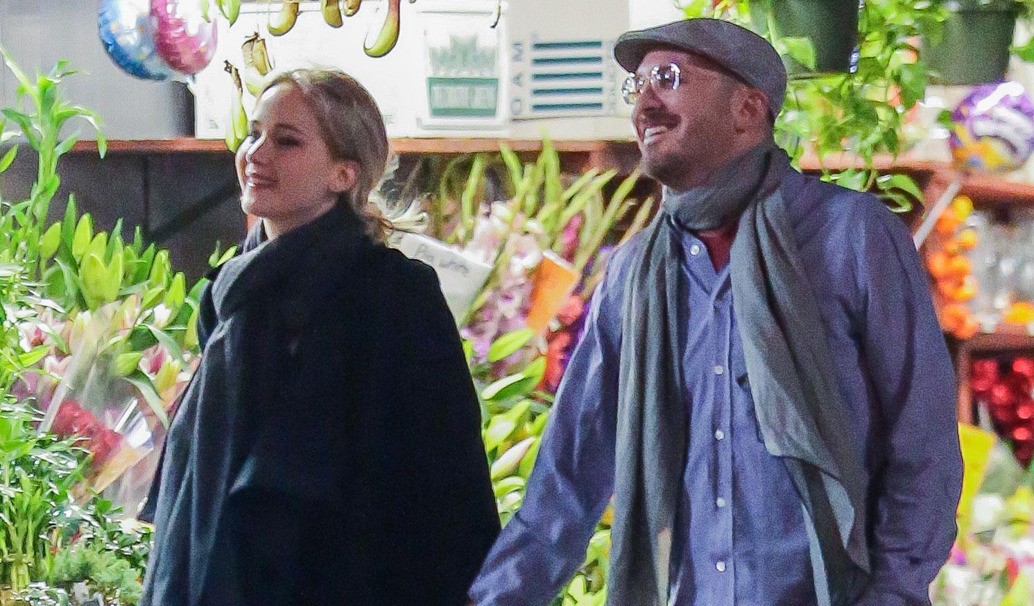 Jennifer Lawrence Flaunts Lots of PDA with New Boyfriend ...