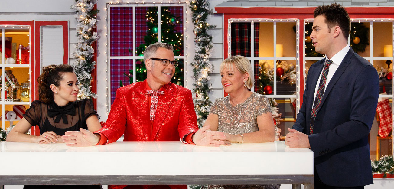 Food Network Cake Wars Christmas