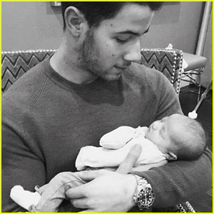 Nick Jonas Shares First Photo with Niece Valentina!