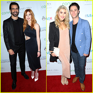 Katherine McNamara Joins Nyle DiMarco At Love & Language Campaign Event