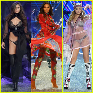 Taylor Hill, Joan Smalls, & Rachel Hilbert Slay the 2016 Victoria's Secret Fashion Show!