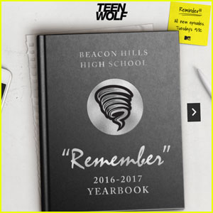 MTV Creates 'Teen Wolf' Yearbook For Fans!