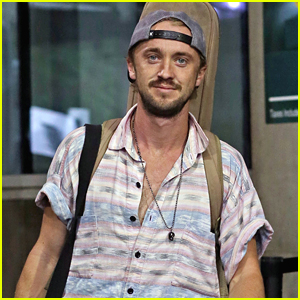 Tom Felton Shows Off Indiana Jones Halloween Costume on Instagram