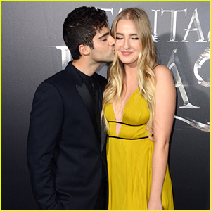 Veronica Dunne & Max Ehrich Are Still Going Strong at 'Fantastic Beasts' Premiere