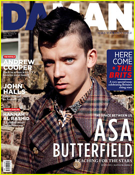 Asa Butterfield Compares His British Accent to His American Accent