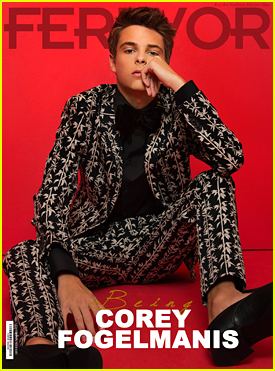 Corey Fogelmanis Sizzles On 'Ferrvor' Mag Cover (Exclusive Reveal)