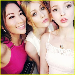 Dove Cameron Wants to Do 'Charlie's Angels' Remake With Katherine McNamara & Arden Cho!
