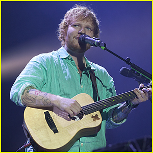 Ed Sheeran Returns To Stage For Performance; Jokes About His Sword Fight Incident