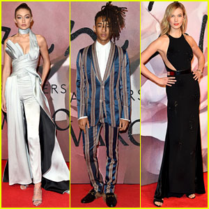 Gigi Hadid, Karlie Kloss, & Jaden Smith Have a Night Out for The Fashion Awards 2016