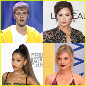 Justin Bieber & Demi Lovato Land Grammy Nominations 2017 - See Full List!