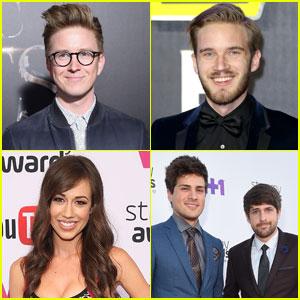 YouTube's Top Earners of 2016 Include Tyler Oakley & Miranda Sings!