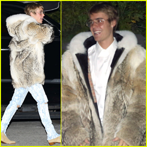 Justin Bieber Hangs in LA After Quick Trip Out of Town