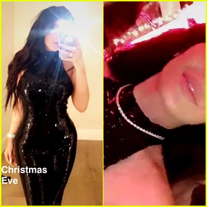 Kylie Jenner Gets Stunning Diamond Necklace from Tyga for Christmas!