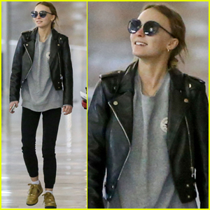 Lily-Rose Depp Is Home For the Holidays!