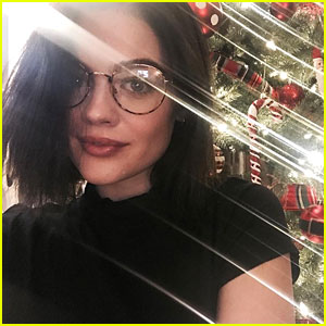 Lucy Hale Shares Hilarious Face Morph For 'All I Want For Christmas Is You'