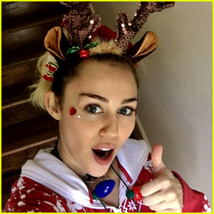 Miley Cyrus Is Sad During Christmas: 'Call Me the Grinch'