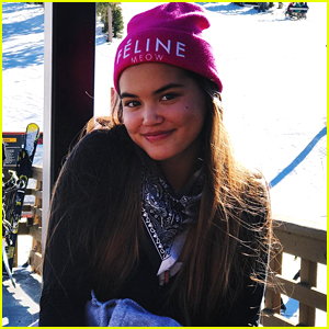 Lab Rats' Paris Berelc Has Snow-Filled Adventure with Peyton Meyer at Mammoth Mountain