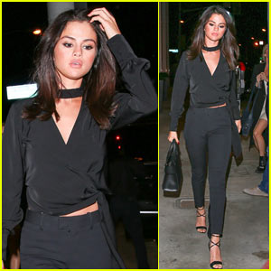 Selena Gomez Makes Rare Appearance in WeHo