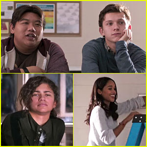 Zendaya Makes Fun of Tom Holland in First 'Spider-Man' Trailer - Watch Now!