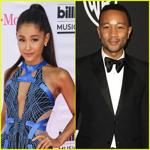 Ariana Grande & John Legend Recording Duet for 'Beauty & the Beast' - Report