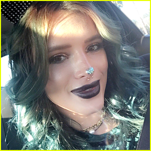 Bella Thorne's Glitter Nose Is the Cutest Thing You'll See All Weekend