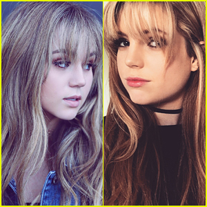 Hair Twins! Echosmith's Sydney Sierota Sports New Bangs Just Like Brec Bassinger!