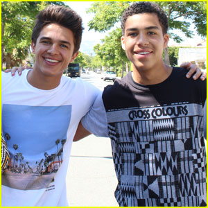 'Alexander IRL' Stars Brent Rivera & Marcus Scribner Talk About Unplugging From Social Media