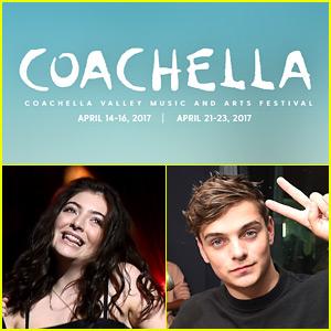 Lorde, Martin Garrix, & More to Perform at Coachella 2017!
