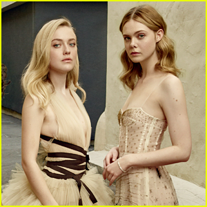 Dakota & Elle Fanning Are First Sisters Ever Featured on Vanity Fair's Hollywood Issue!