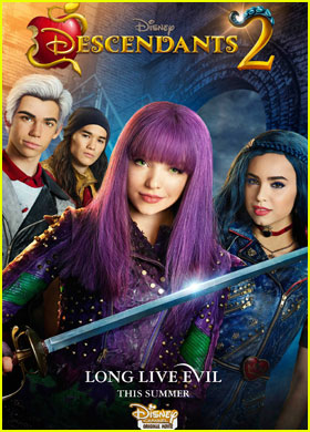 'Descendants 2' Gets New Poster & Promo!