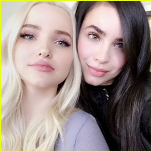 Descendants' Dove Cameron & Sofia Carson Reunite In Cute Snapchat Pic