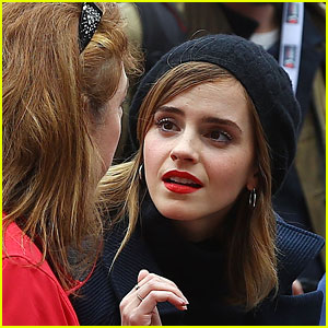 Emma Watson Continues Fight For Women's Rights In Washington!