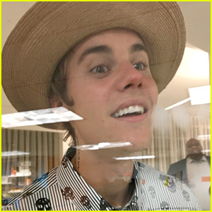 Justin Bieber Is Too Cute While Being Silly with Kids at a Day Care!