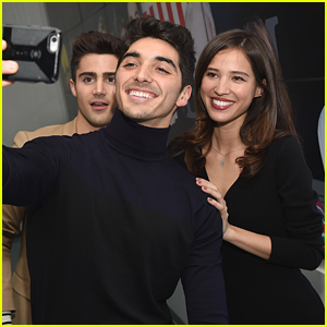 Kelsey Asbille Hits The Promo Trail For 'Embeds' with Max Ehrich