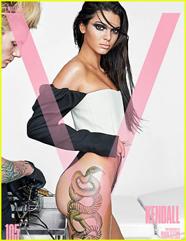 Kendall Jenner Gets Some New Ink for 'V' Magazine!