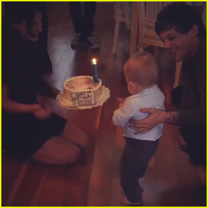 Louis Tomlinson's Son Freddie Turns 1 Year Old!
