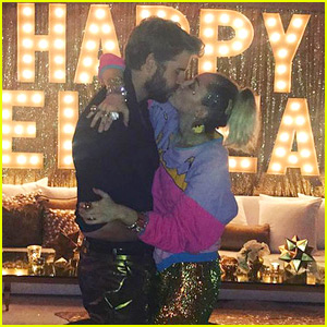 Miley Cyrus Raves About Liam Hemsworth on NYE: 'My Dude is HOT'