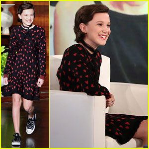 VIDEO: Millie Bobby Brown Recalls What Happened During Her First Sleepover with Maddie Ziegler!