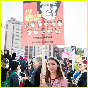 Rowan Blanchard Has Advice For You About Springing Into Action