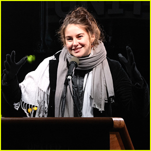 Shailene Woodley Makes Her Voice Heard at We Stand United NYC Rally
